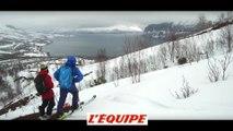 le teaser de Døpe, le voyage en Norvège de riders de La Clusaz - Adrénaline - Ski freeride