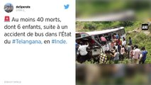Inde. Cinquante morts dans un accident de bus.
