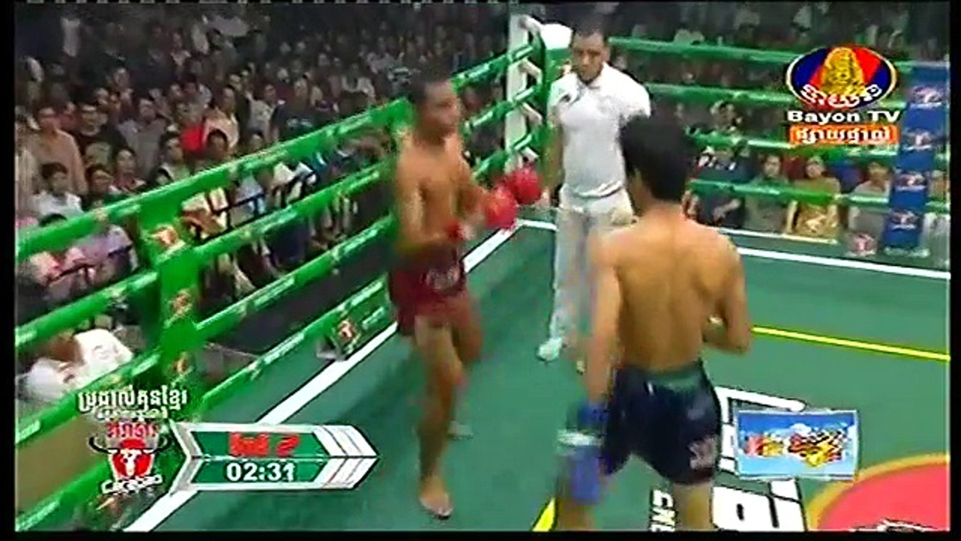 Chan Bunheun, Cambodia Vs Nampetch, Thailand, 9 September 2018, International Boxing, Khmer Boxing