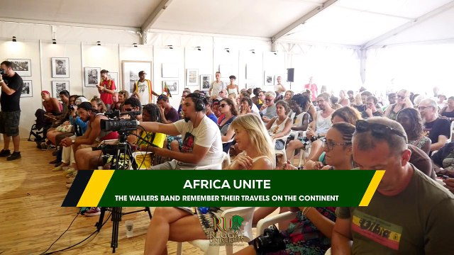 AFRICA UNITE. The Wailers Band remember their travels on the Continent @ Reggae University 2017