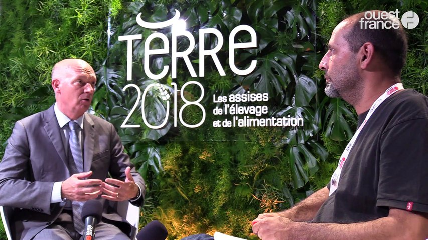 Terre 2018 - Pascal VINÉ, directeur des relations institutionnelles et des orientations mutualistes, Groupama