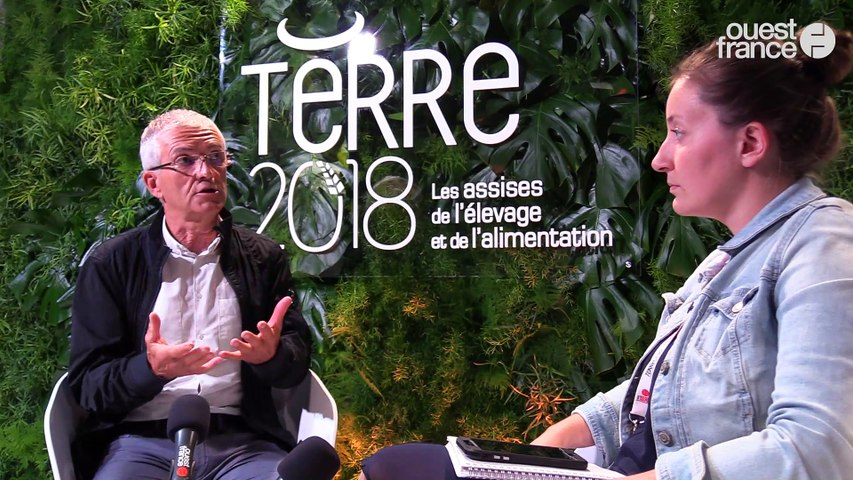 Terre 2018 - Bernard LANNES, président national, Coordination rurale