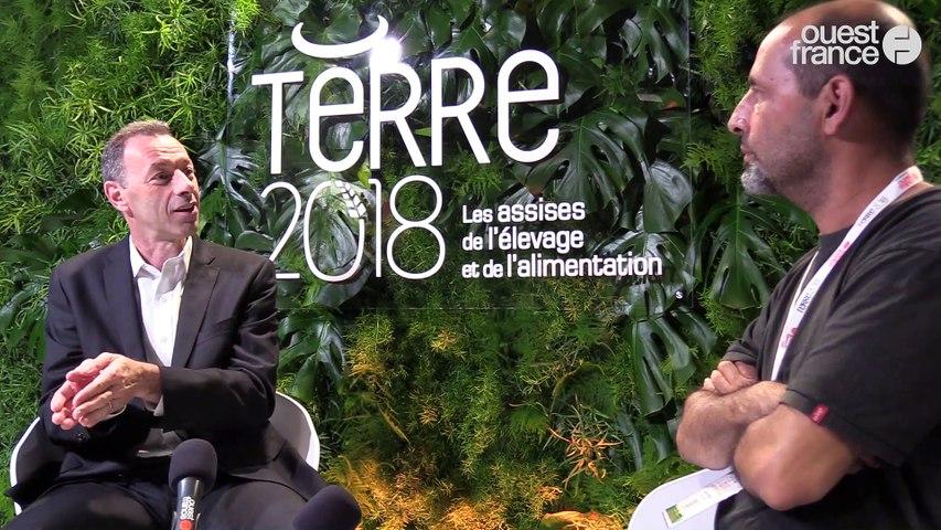 Terre 2018 - François EYRAUD, directeur général, Danone Produits Frais France
