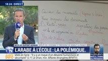 """Enseignement de l'arabe: """"Je ne veux pas de l'arabisation de la France"""" déclare Nicolas Dupont-Aignan"""