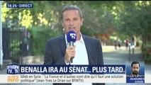 """""""Personne n'est dupe de la peur de Monsieur Benalla de répondre aux sénateurs"""", réagit Nicolas Dupont-Aignan"""