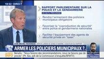 """""""Les policiers municipaux comme leurs collègues nationaux sont pris pour cible"""", justifie Jean-Michel Fauvergue"""