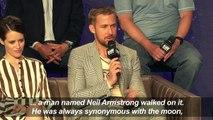 """Ryan Gosling, Damien Chazelle discuss new film """"First Man"""""""