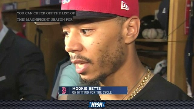 "Red Sox Gameday Live: Mookie Betts Trying To ""Flush Away"" Past Highlights"