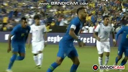 Penalty Goal Neymar (1-0) Brazil  vs El Salvador