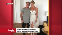 New #RHOBH #DeniseRichards JUST got married and her wedding dress is getting mixed reactions. We asked, you answered! Would you say yes to this dress?! #PageSixTV