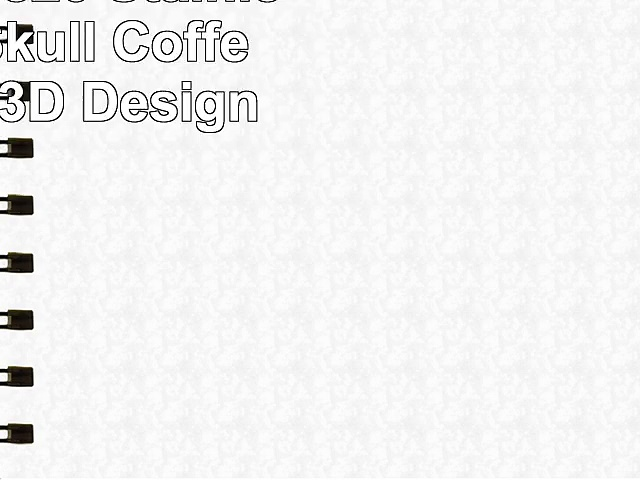 BIGOCT 53820 Stainless Steel Skull Coffee Mug for 3D Design