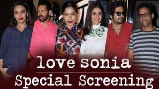 Love Sonia Special Screening | Ali Fasal, Swara Bhaskar, Freida Pinto, Anil Kapoor,  |