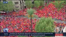 Un millions de personnes dans les rues pour célébrer la fête nationale catalane