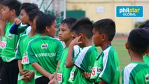 Young Footballers in 2nd Road to Barcelona PH Camp