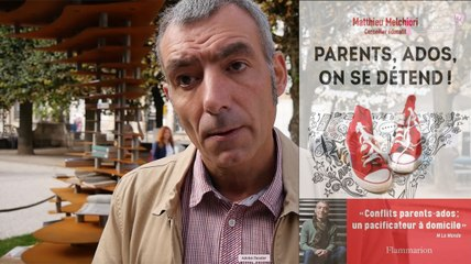 "Livre : interview de Matthieu Melchiori auteur de ""Parents, Ados, on se détend"" (Flammarion)"