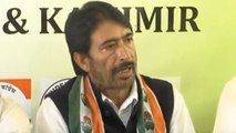 Jammu and Kashmir Congress :Polls were declared without stock of situation on ground | Oneindia News