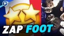 Zap Foot : Vinicius Jr régale au Real Madrid, les Bleus mettent le feu au Stade de France