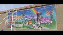 Festival de Street Art du CH Théophile Roussel - Juillet 2018