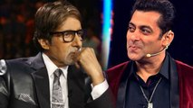 Bigg Boss 12: Salman Khan's Fees Vs Amitabh Bachchan's Fees for Kaun Banega Crorepati | FilmiBeat