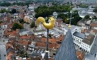Coq au vent au sommet de la Cathédrale