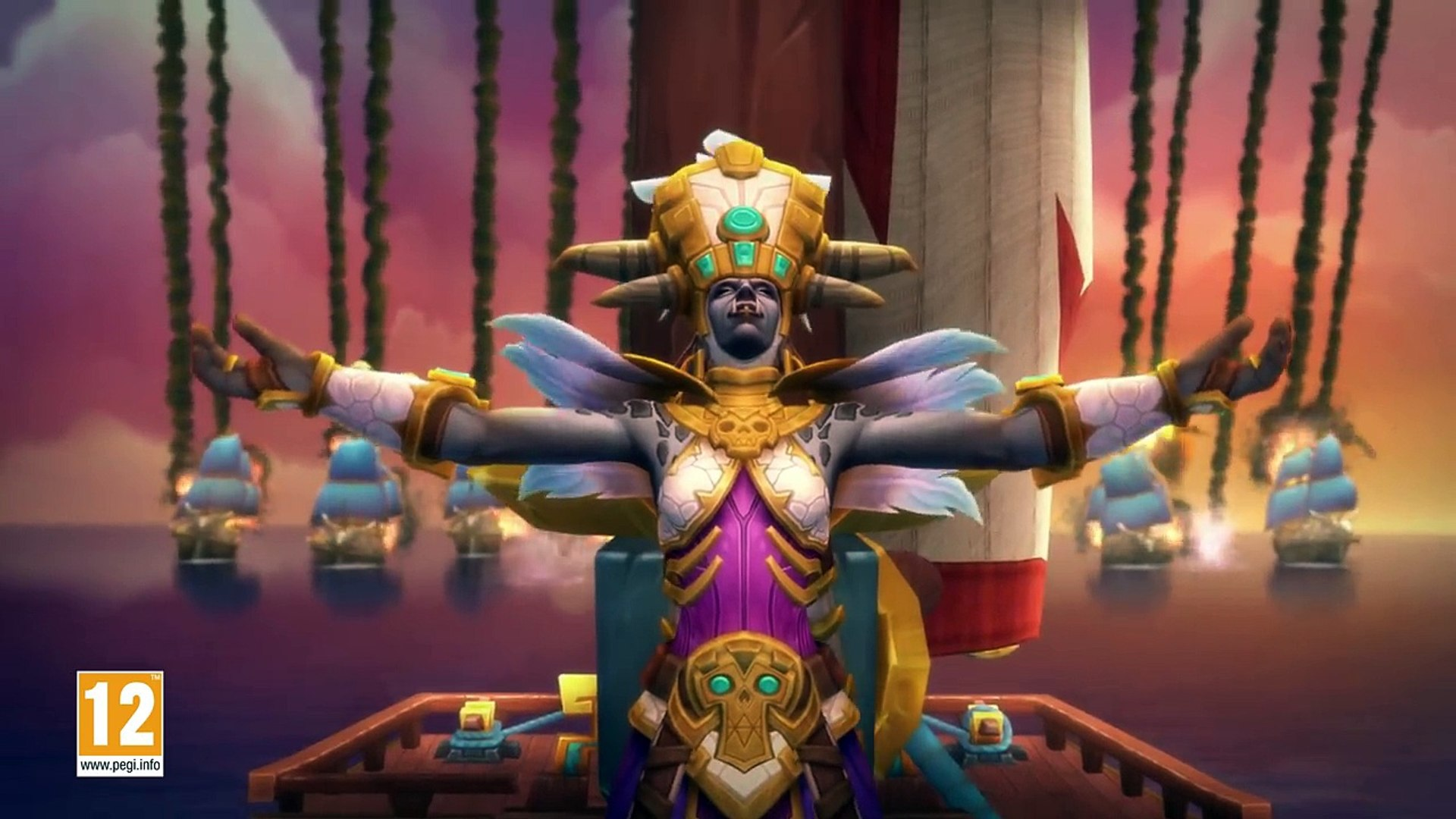 World of Warcraft - Battle for Azeroth - Embers of War  Trailer