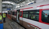 Uji Operasi Terbatas LRT Rute Velodrome - Kelapa Gading