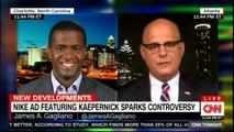 Panel discussing Nike AD featuring Kaepernick sparks controversy. #NikeAd #Nike #Kaepernick @Bakari_Sellers