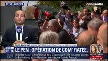 """Marine Le Pen chahutée dans le Var: """"Il s'agit d'une quinzaine de personnes alors qu'il y a 500 habitants dans le village"""", relativise David Rachline"""