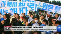 Inter-Korean sports exchanges expected to achieve unity across the divided Korean Peninsula