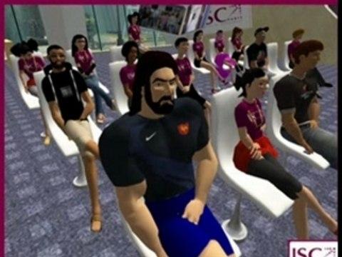 Cours virtuel dans Second Life