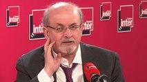 """Salman Rushdie : """"Cette histoire des versets sataniques c'est de l'histoire ancienne. J'en ai un peu assez que l'on me parle de cela."""""""