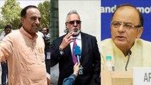Vijay Mallya से परेशान Arun Jaitley को झेलना होगा Subramanian Swamy का ये Tweet | वनइंडिया हिन्दी