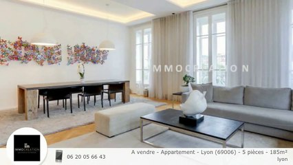 A vendre - Appartement - Lyon (69006) - 5 pièces - 185m²
