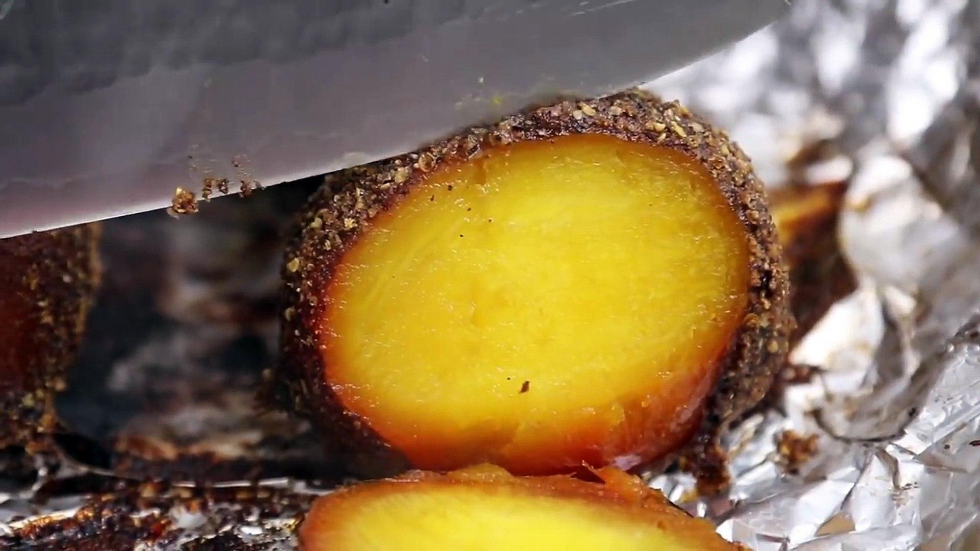 GOLDEN BEET PASTRAMI REUBEN STYLE SANDWICHES   hot for food