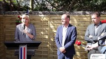 Marine Le Pen prononçait hier, à Hénin-Beaumont, un discours aux militants