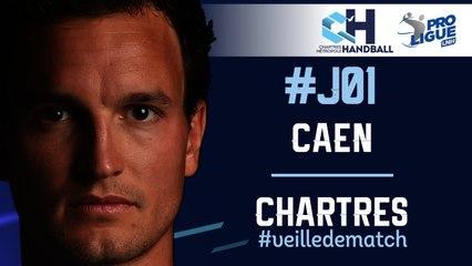 #J01 : CAEN - CHARTRES #veilledematch
