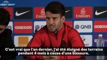 Les premiers mots de Juan Bernat au PSG