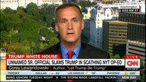 Corey Lewandowski on unnamed Sr. Official slams Donald Trump in scathing NYT OP-ED. #CoreyLewandowski #DonaldTrump #CNN #NEWS