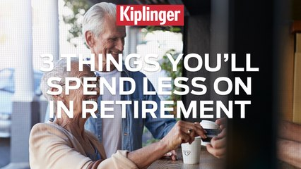 3 Things You'll Spend Less on in Retirement