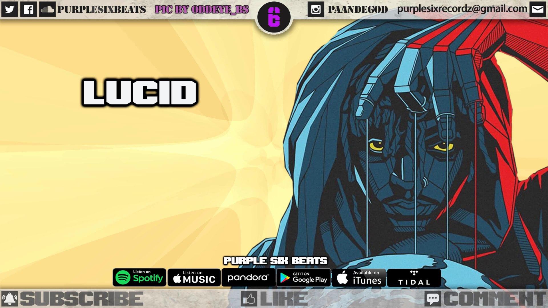 [ FREE ] Juice WRLD Beat Type Instrumental | 2019 Rap Instrumental || Lucid