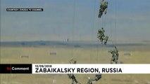 Gigantesques manoeuvres de l'armée russe