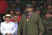 """Maduro: """"Necesitamos tener los fusiles, los misiles y los tanques bien aceitados, preparados, con los planes para defender cada palmo del territorio nacional si"""