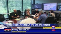 Waffle House Opens Storm Center for Hurricane Florence