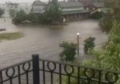 Hurricane Florence Storm Surge Triggers Flooding in New Bern, North Carolina