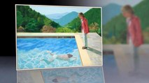 David Hockney's pool painting could shatter auction records
