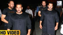 Salman Khan Visits Sister Arpita Khans House Ganpati Celebrations