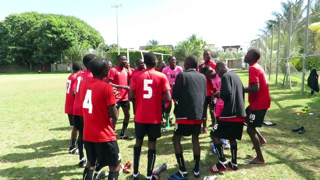 U17 GET DOWN TO BUSINESS IN MAURITIUS The Zambia Under-17 national team got down to business this morning with the first training session at Grand Baie Footba