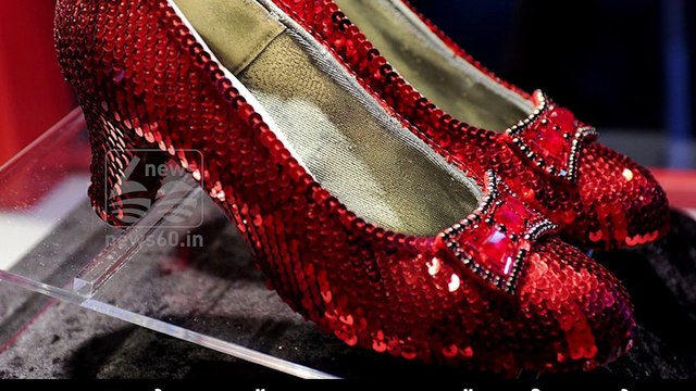 Ruby shoes worth $ 10 million were recovered