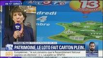 """Le loto du patrimoine """"se compare aux meilleurs lancements historiques dans l'histoire de la Française des jeux"""", selon sa PDG"""