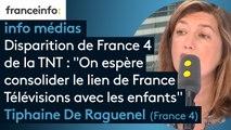 """Disparition de France 4  de la TNT : """"On espère consolider le lien de France Télévisions avec les enfants"""""""